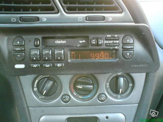 [ RADIO + CARGARDOR ] Lista de las radios originales Autoradio-k7-clarion